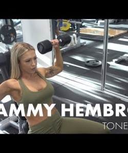 SHOULDERS & TRICEPS WORKOUT | Tammy Hembrow | Women's Best