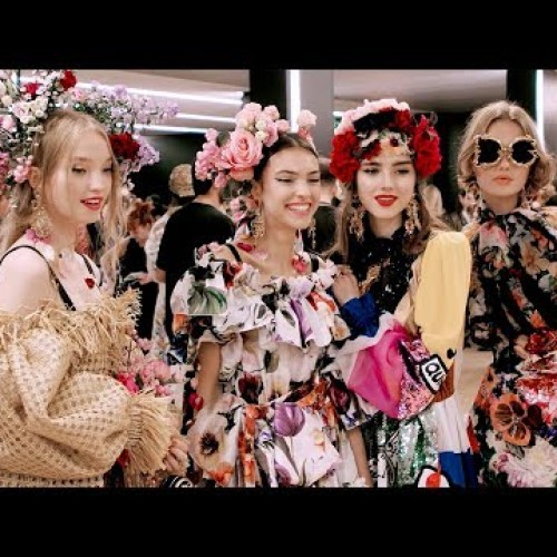 Dolce&Gabbana Spring Summer 2019 Women's Fashion Show Backstage